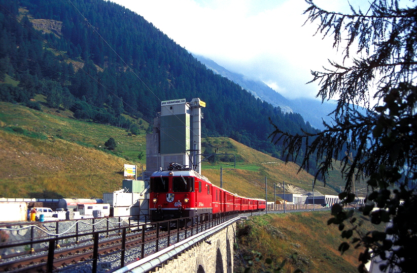 k-006b Vereinatunnel Süd am 25.08.1997 js