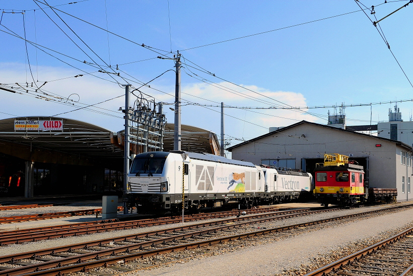 k-StH 2 x  VECTRON  in Eferding 30.05.2018 hr